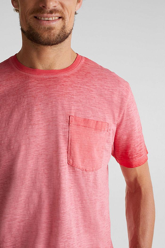 Jersey-Shirt aus 100% Organic Cotton, RED, detail image number 1