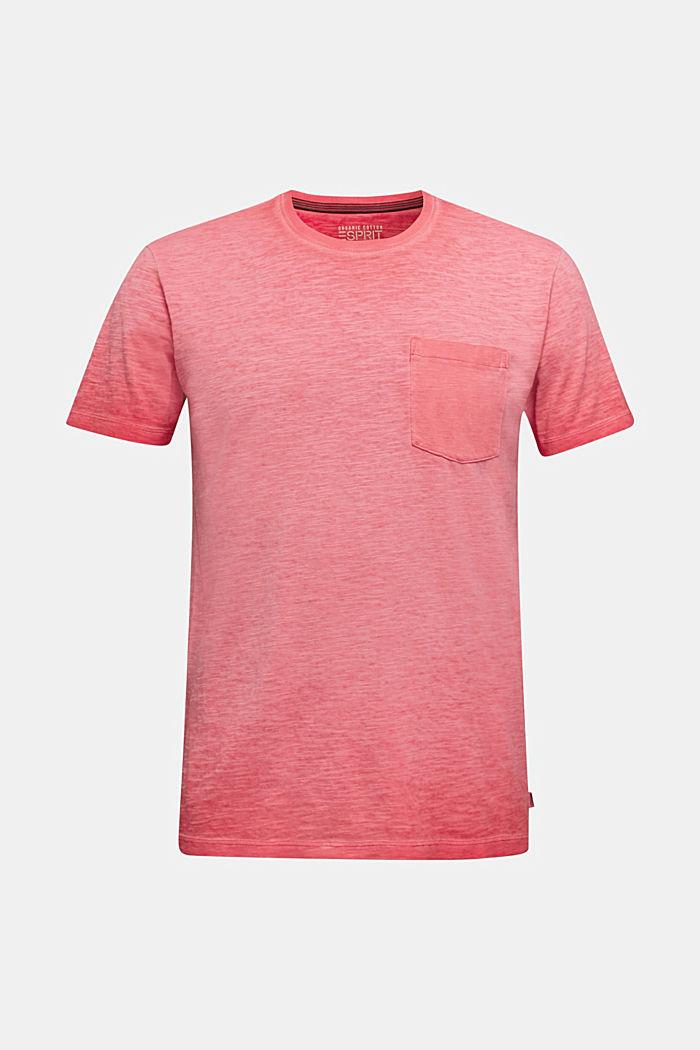 Jersey-Shirt aus 100% Organic Cotton, RED, detail image number 5