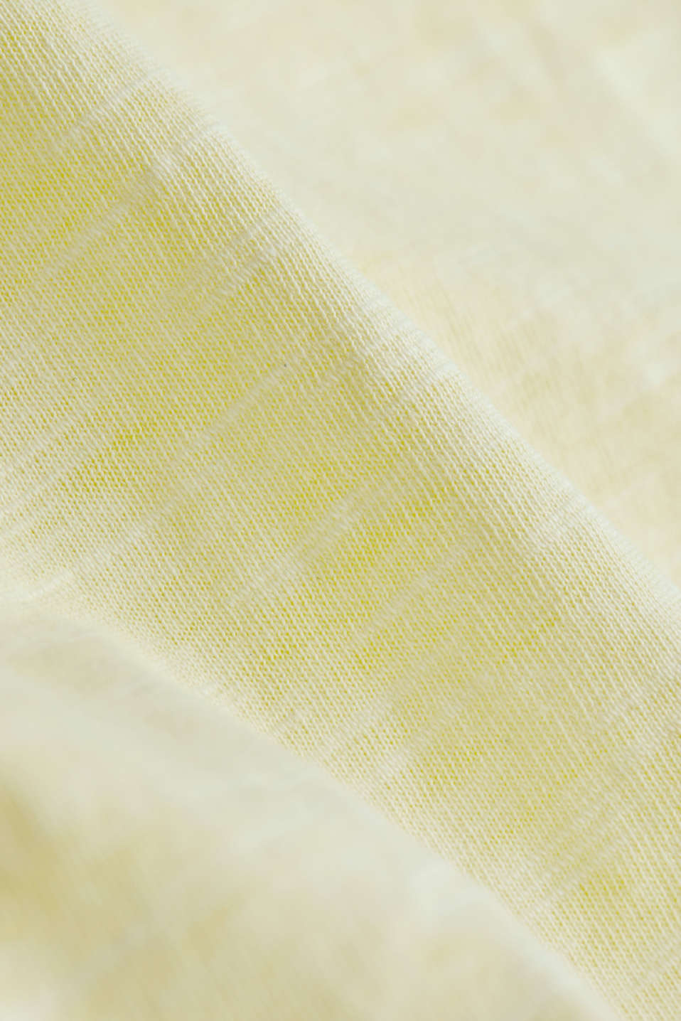Jersey top made of 100% organic cotton, LIGHT YELLOW 2, detail image number 4