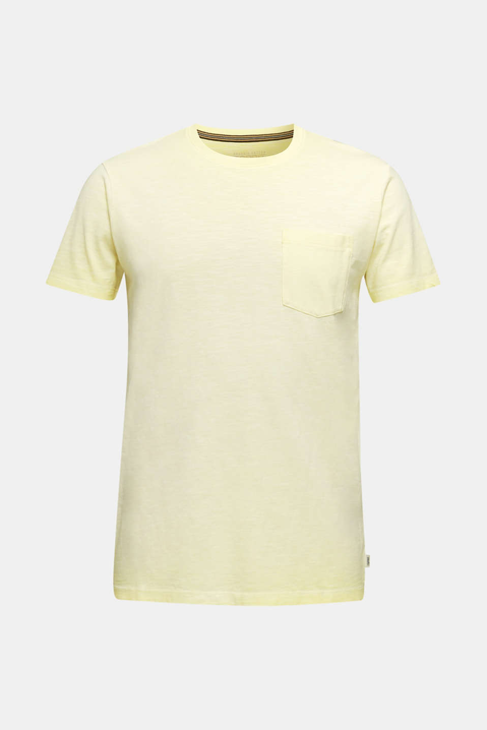 Jersey top made of 100% organic cotton, LIGHT YELLOW 2, detail image number 5