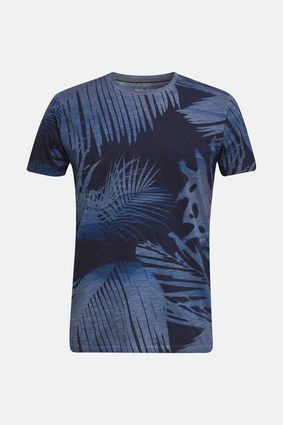 Jersey print top, 100% organic cotton, NAVY 4, detail image number 5
