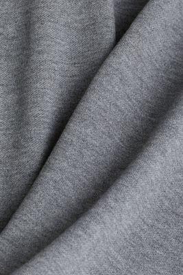 Melange piqué polo shirt, DARK GREY 5, detail