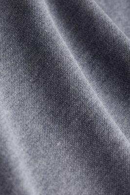 Melange piqué polo shirt, NAVY 5, detail