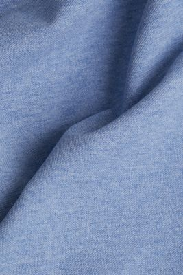 Melange piqué polo shirt, BLUE 5, detail