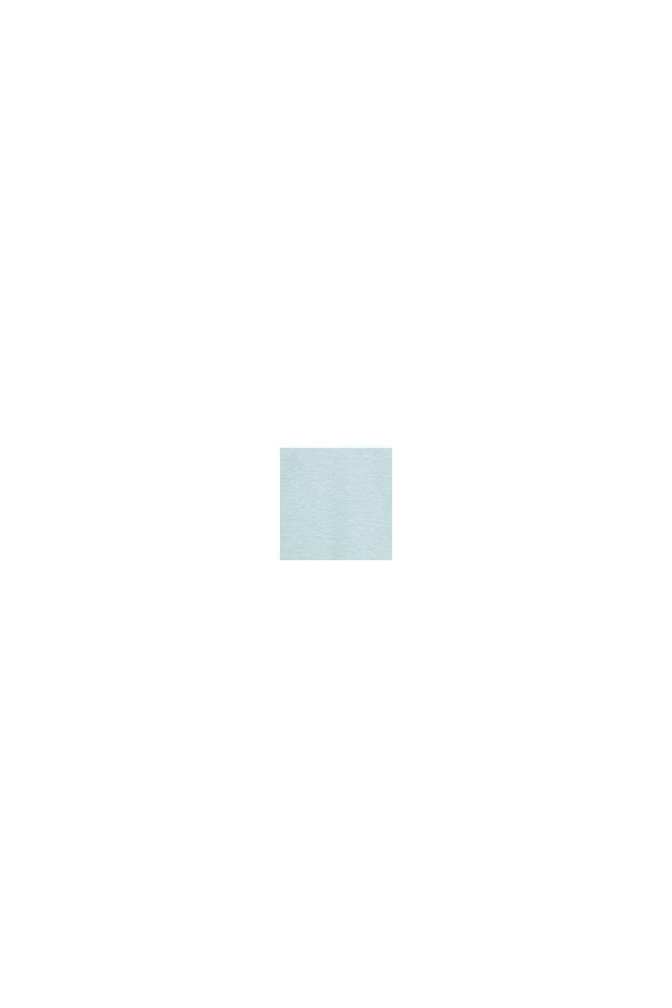 Meliertes Piqué Poloshirt, LIGHT BLUE, swatch