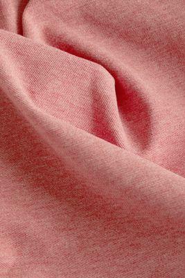 Melange piqué polo shirt, CORAL RED 5, detail