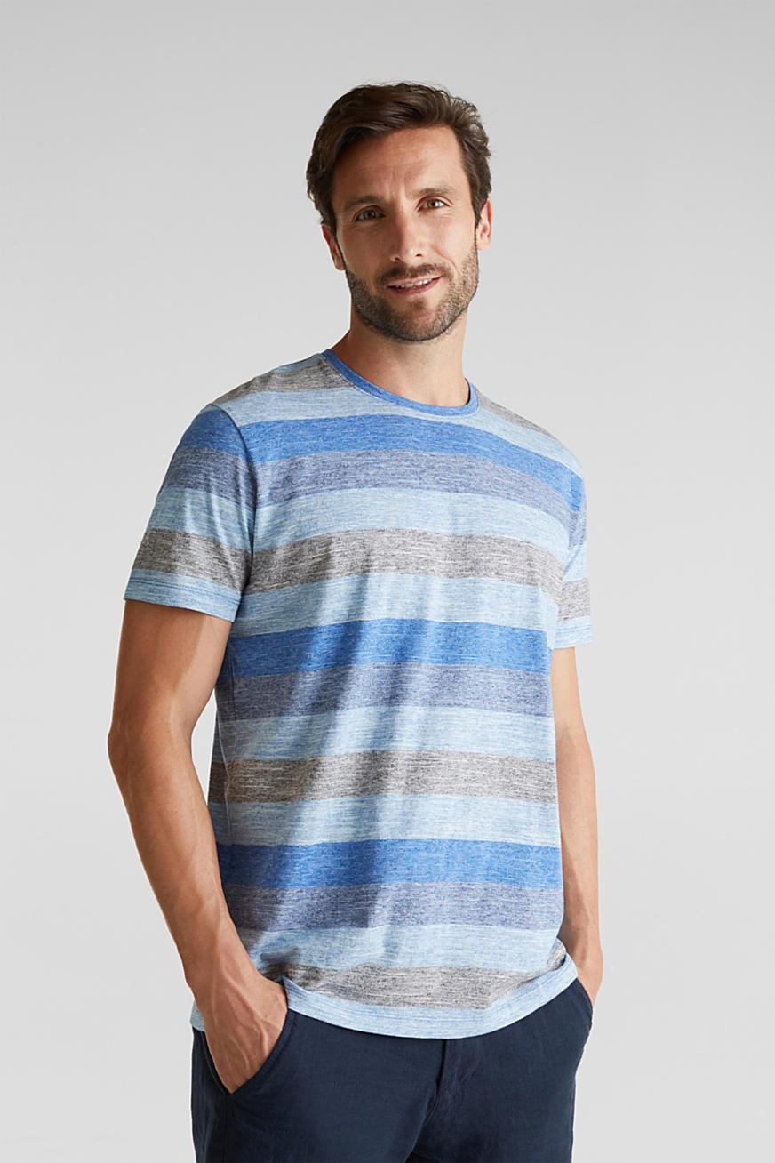 Striped jersey T-shirt