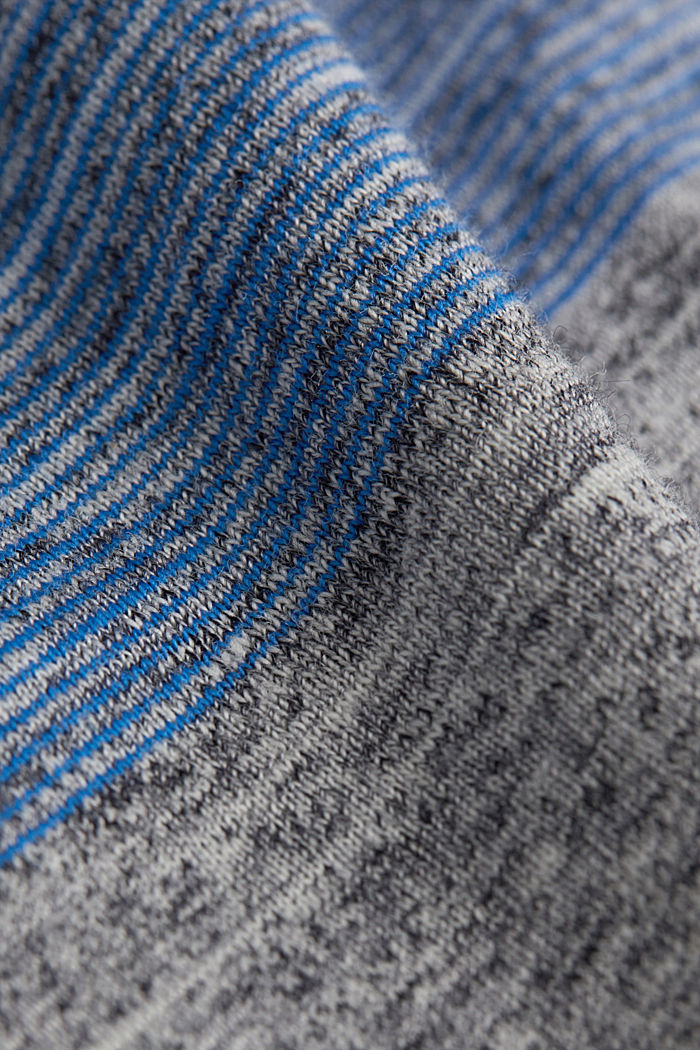 Jersey-Henley-Shirt mit Layer-Details, BLUE, detail image number 4