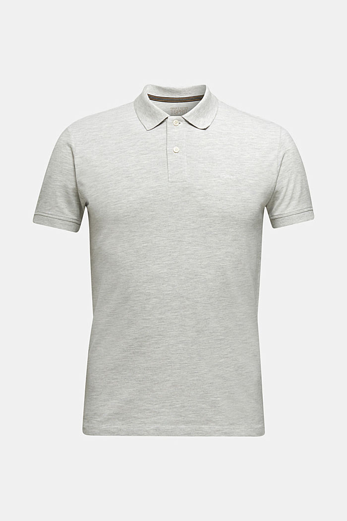 Piqué polo shirt with organic cotton, OFF WHITE, detail image number 7