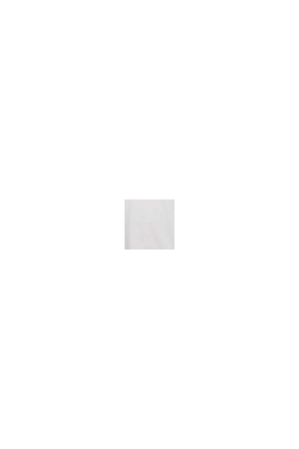 Jersey T-shirt van biologisch katoen met logo, OFF WHITE, swatch