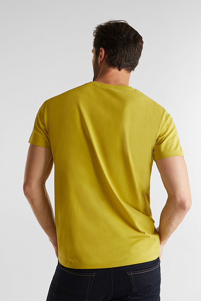 Jersey top made of 100% organic cotton, PISTACHIO GREEN, detail image number 3