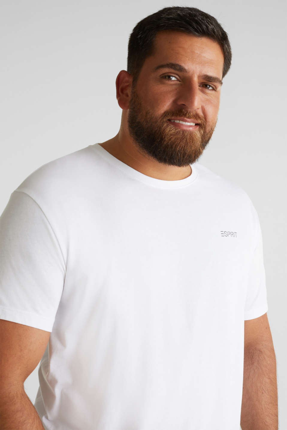 Double pack of T-shirts, 100% organic cotton, WHITE 3, detail image number 5