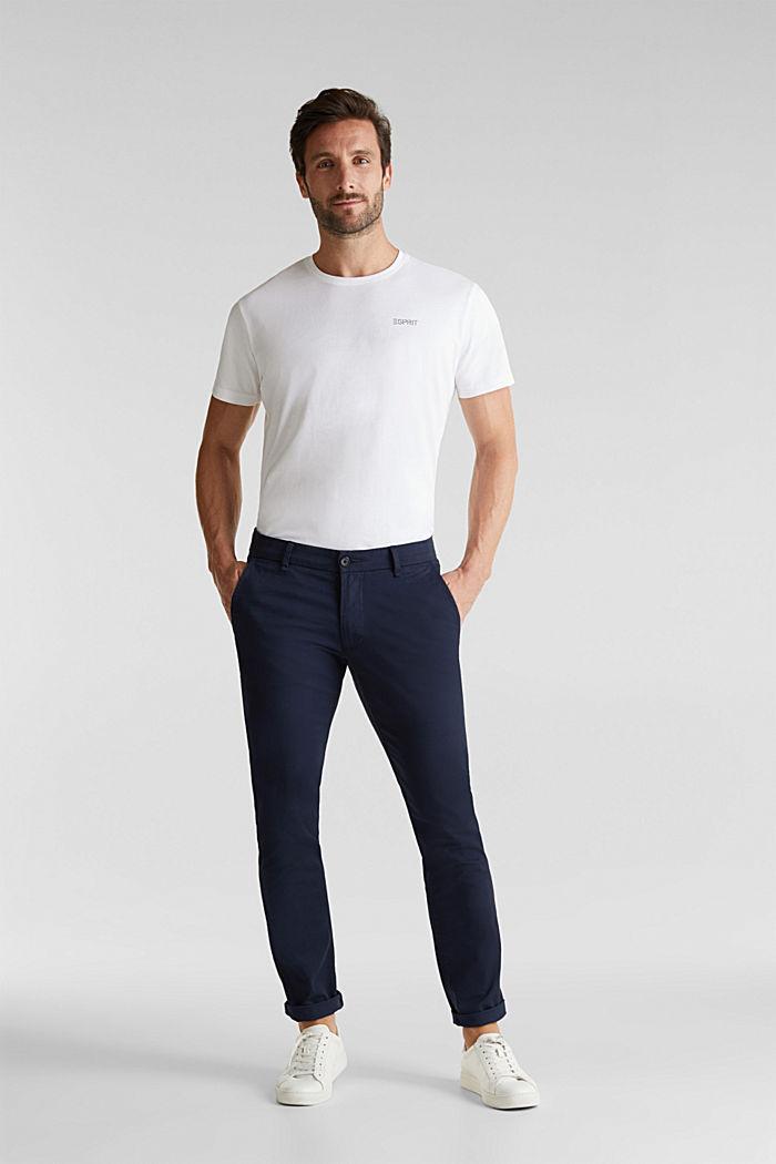 2er-Pack Jersey-Shirts, 100% Organic Cotton, WHITE, detail image number 1