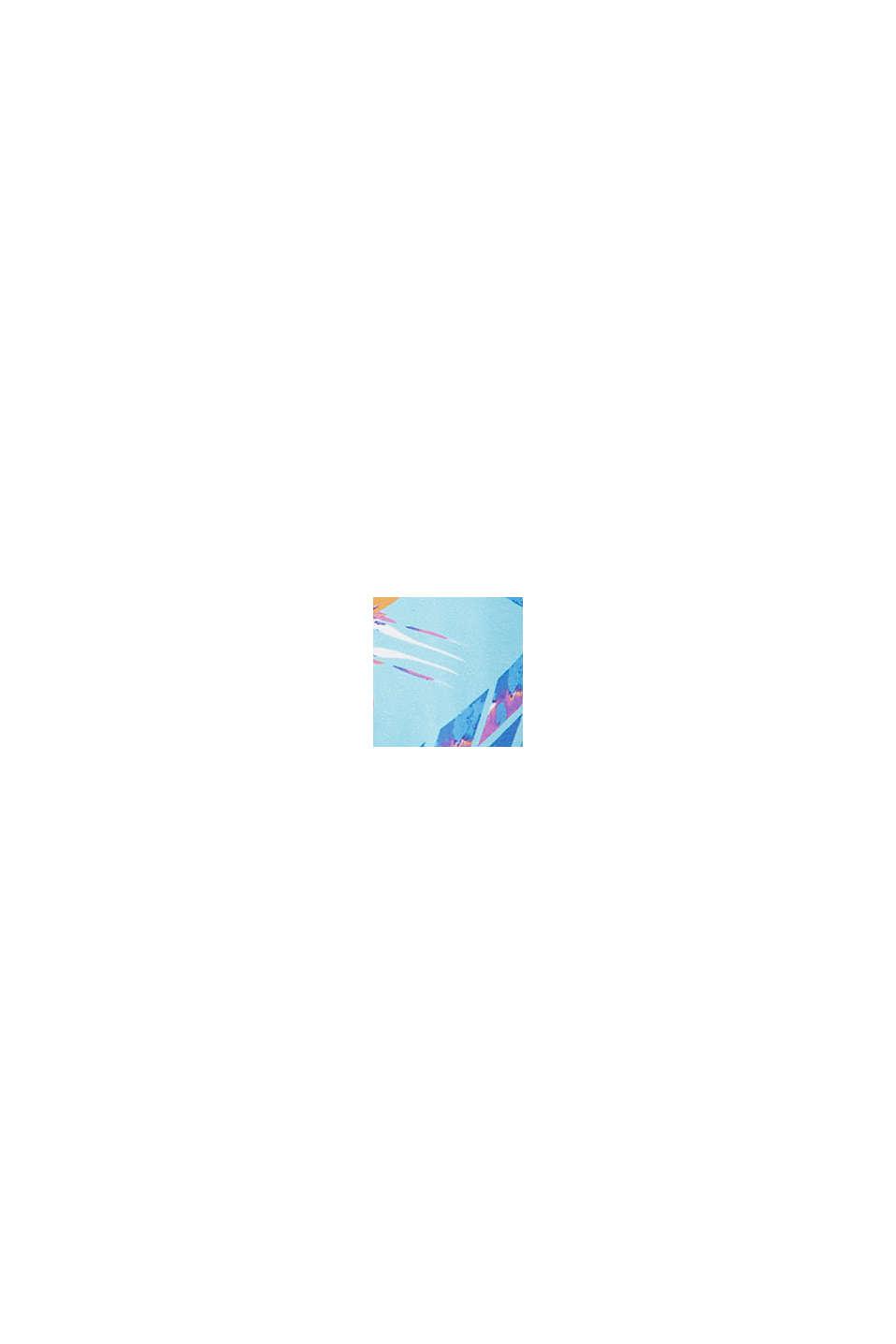 Unwattiertes Neckholder-Top, LIGHT TURQUOISE, swatch