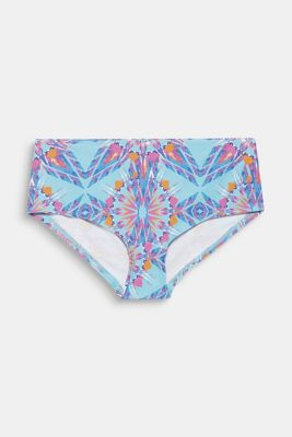 Hipster short with print, LIGHT TURQUOISE, detail