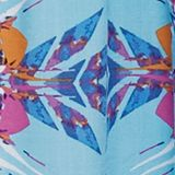 Kaleidoscope print beach dress, LIGHT TURQUOISE, swatch