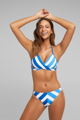 Briefs with stripes, BRIGHT BLUE, detail