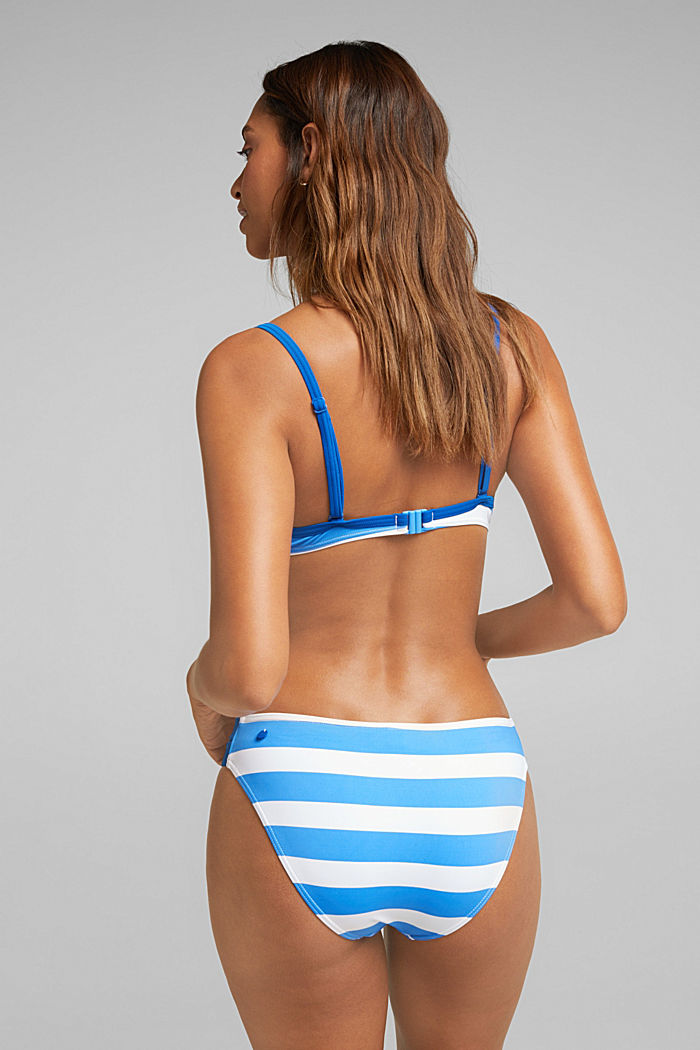 Briefs with stripes, BRIGHT BLUE, detail image number 2