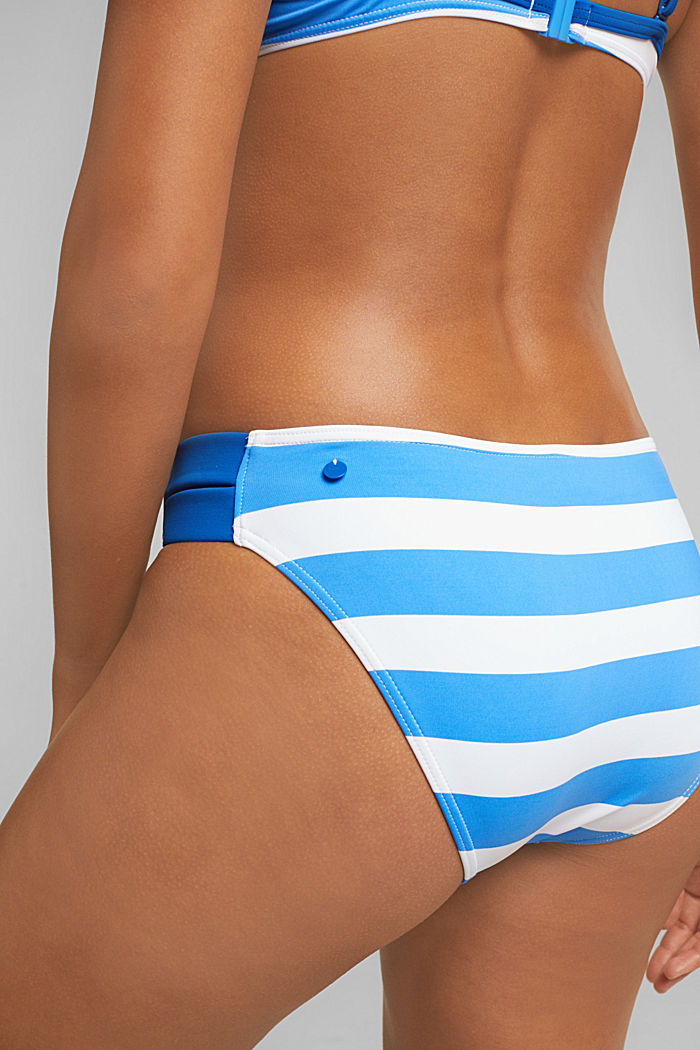 Briefs with stripes, BRIGHT BLUE, detail image number 1
