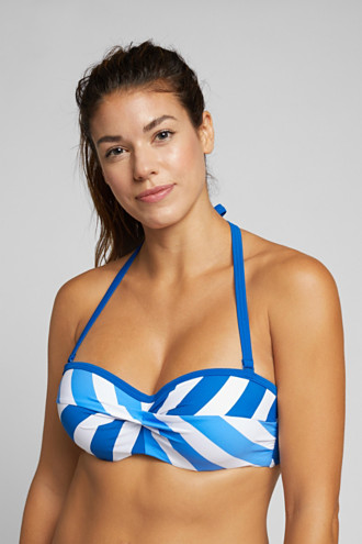 Halterneck top for larger cup sizes