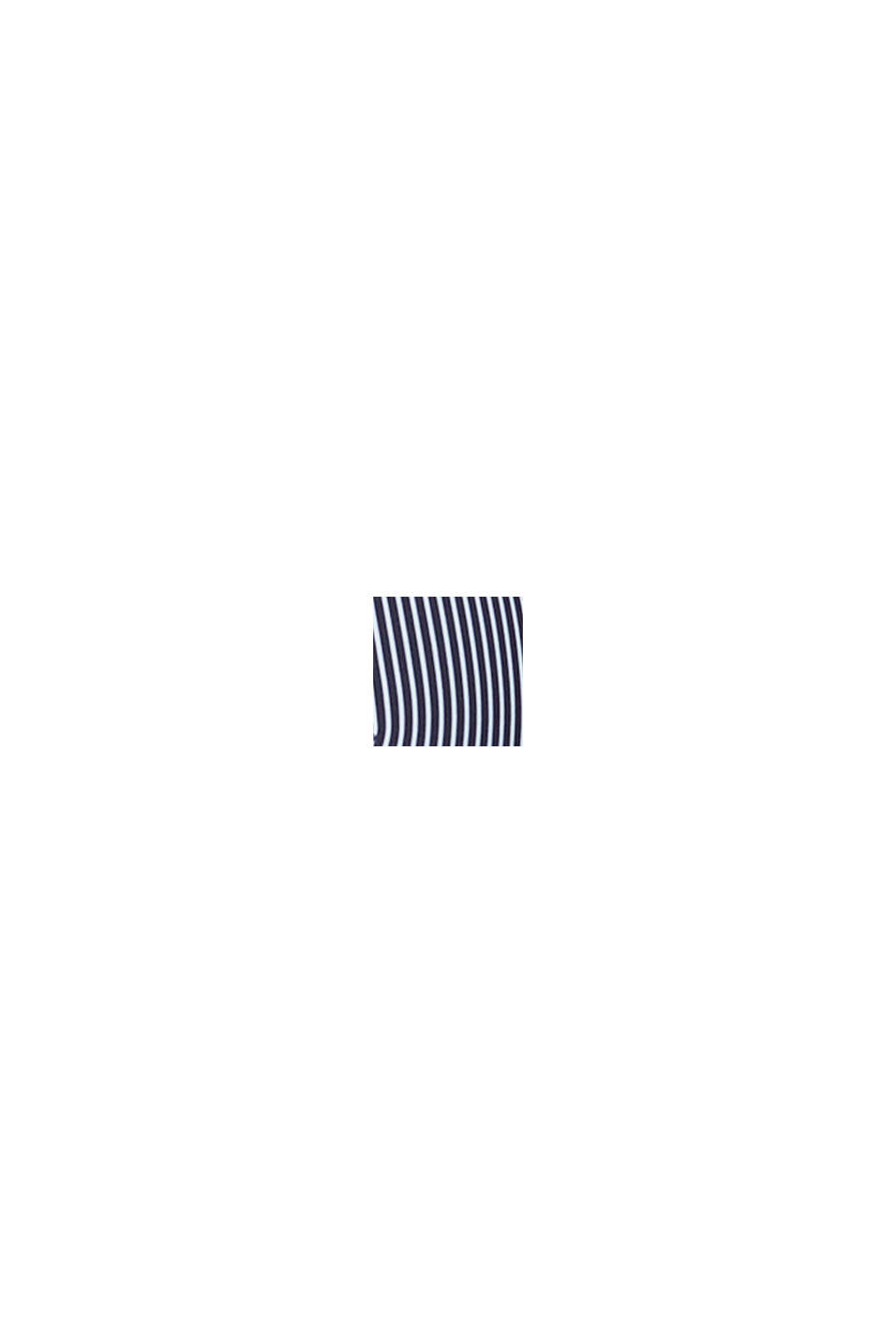 Polstret bøjle-bh med striber, NAVY, swatch