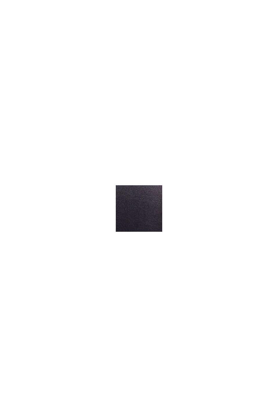 Polstret bøjle-bh i mikrofiber, DARK GREY, swatch