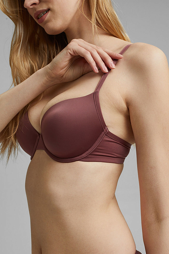 Bras with wire
