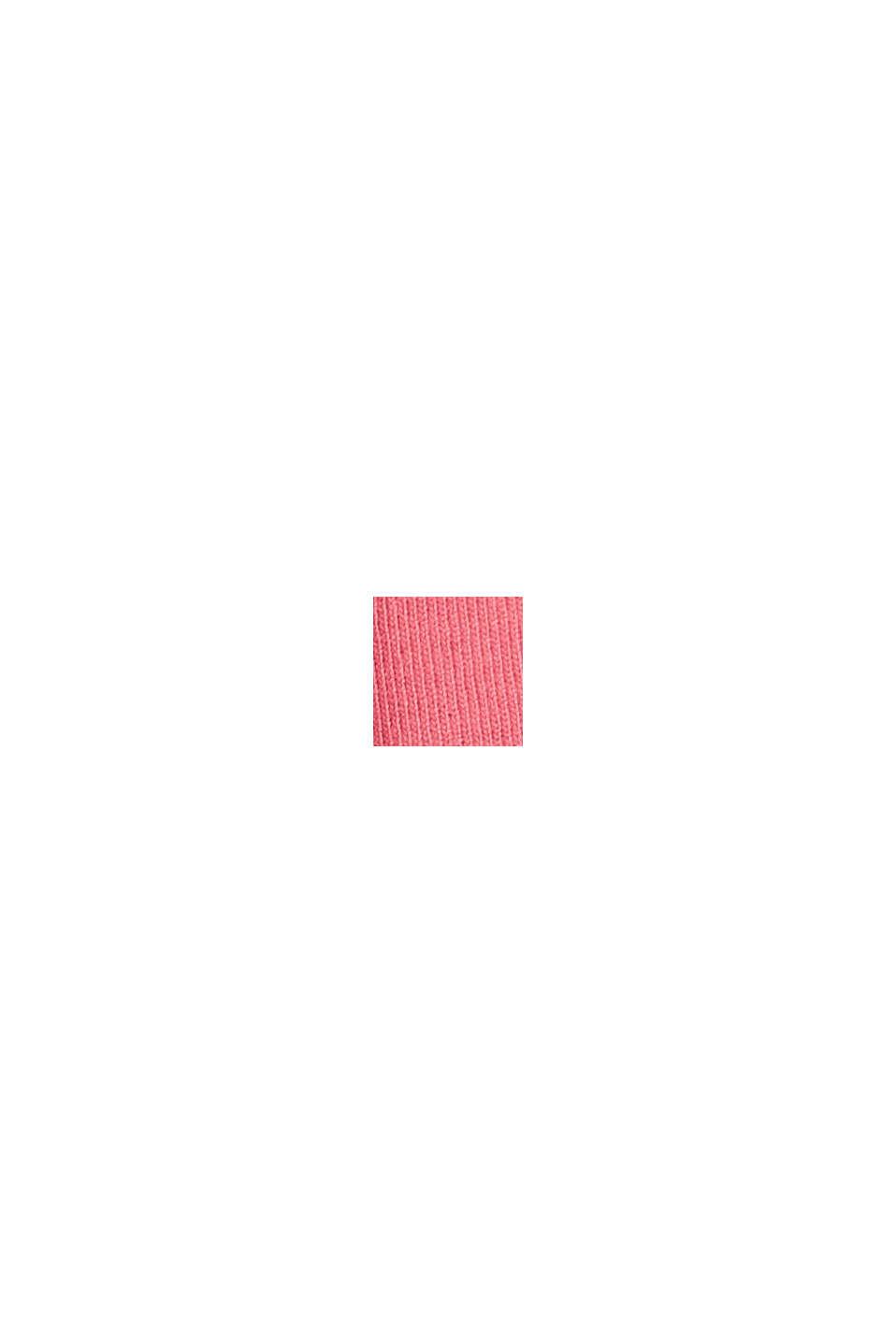 Maglia active con inserto in mesh, CORAL RED, swatch