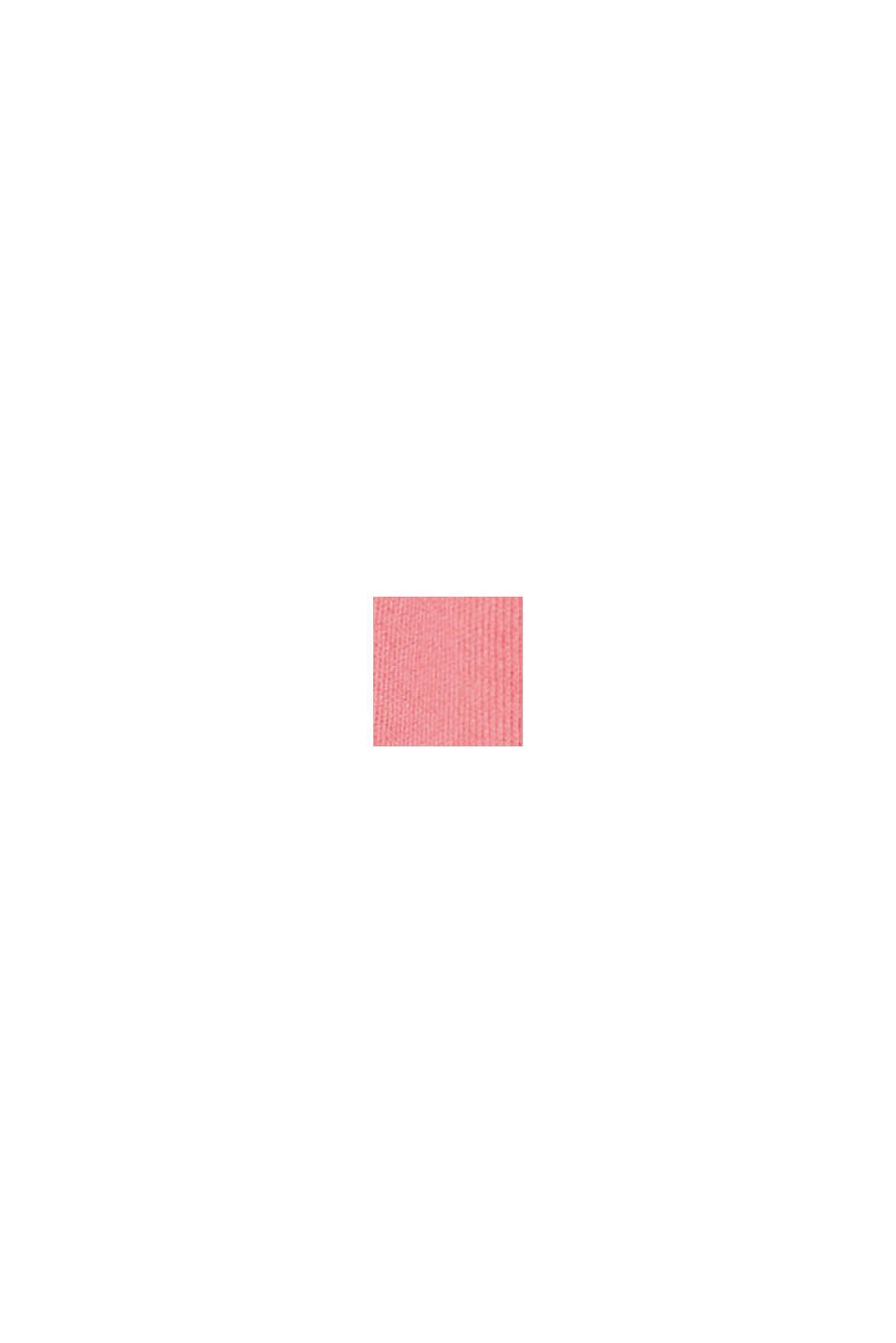 Top active con dettaglio posteriore in mesh, CORAL RED, swatch