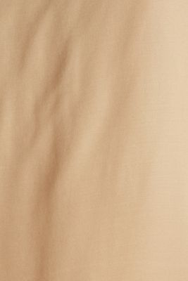 Blouse top made of satin with LENZING™ ECOVERO™, BEIGE, detail