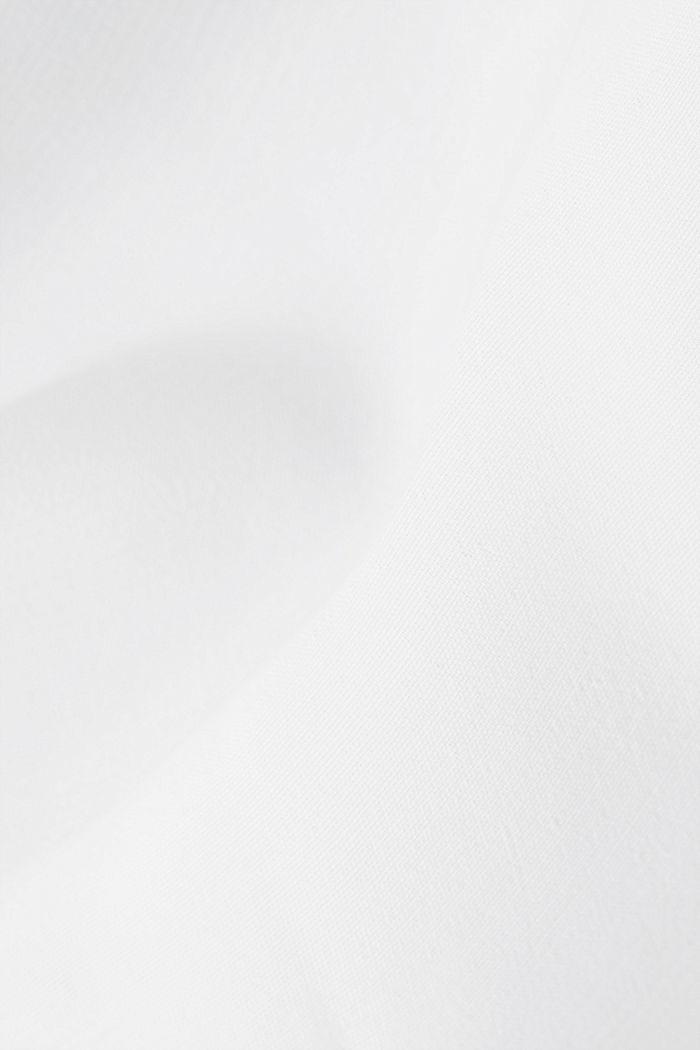 V-neck blouse made of LENZING™ ECOVERO™, OFF WHITE, detail image number 4