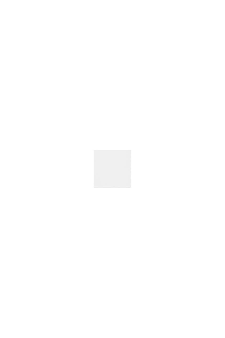 Blouse met V-hals van LENZING™ ECOVERO™, OFF WHITE, swatch