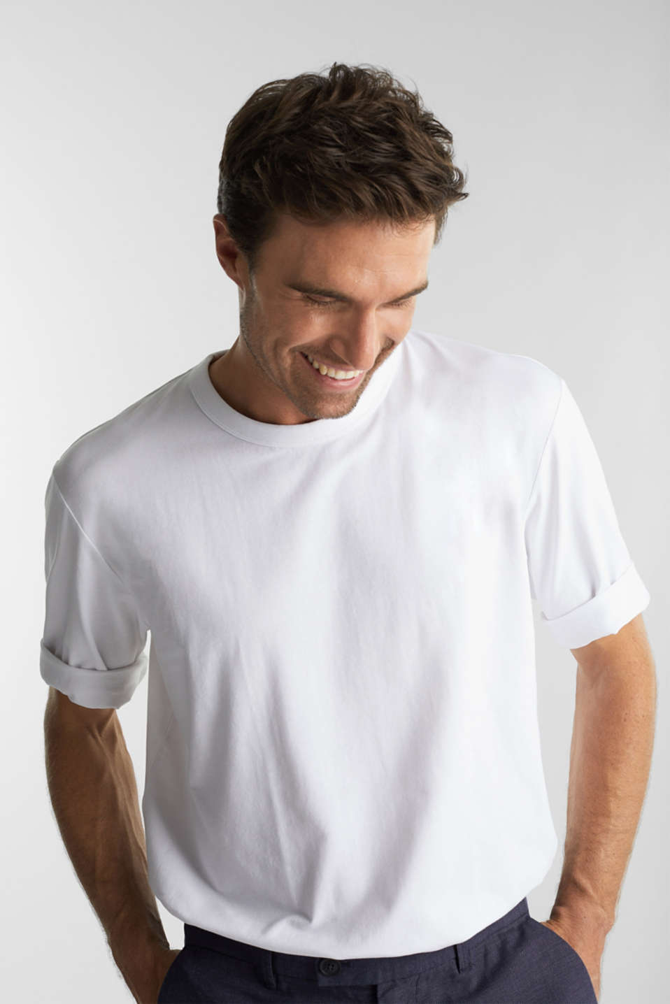 Esprit - Jersey T-shirt with COOLMAX®