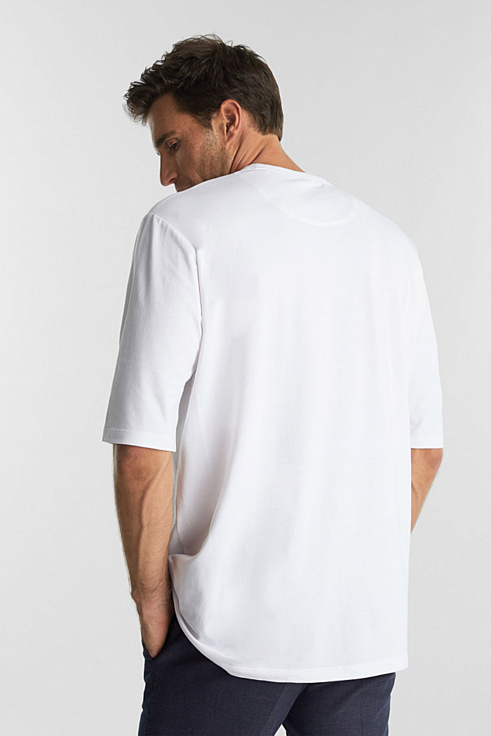 Jersey T-shirt with COOLMAX®, WHITE, detail image number 3