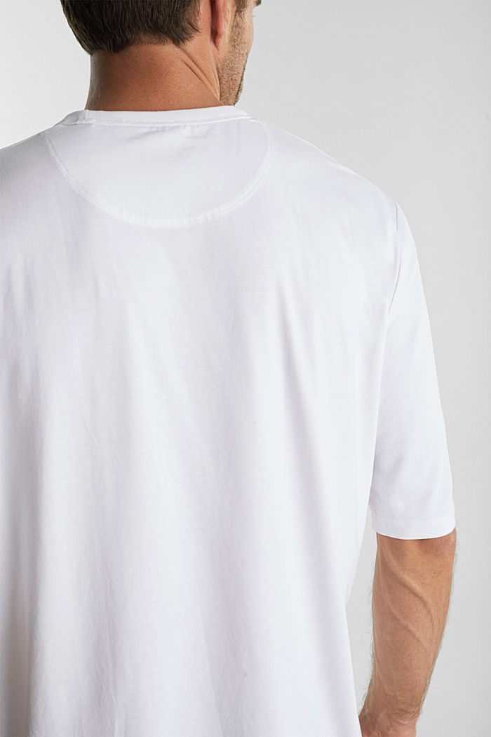 Jersey T-shirt with COOLMAX®, WHITE, detail image number 1