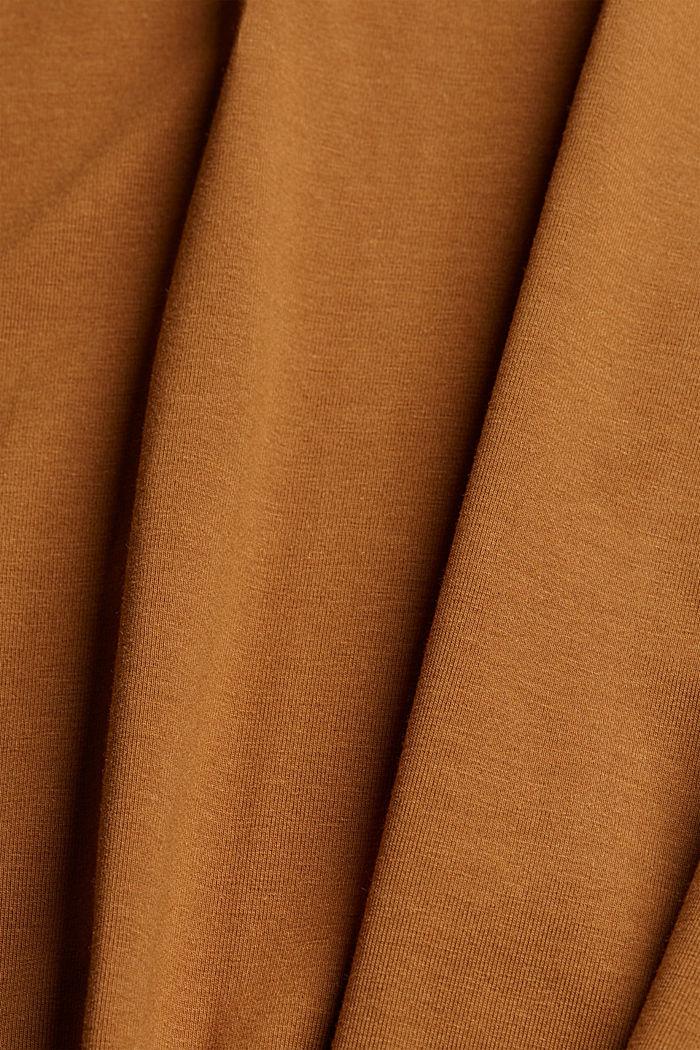 Jersey-Shirt mit COOLMAX®, CAMEL, detail image number 4