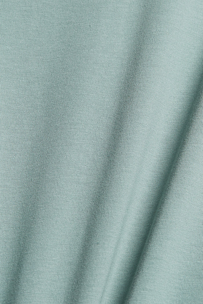Jersey T-shirt with COOLMAX® technology, DUSTY GREEN, detail image number 4