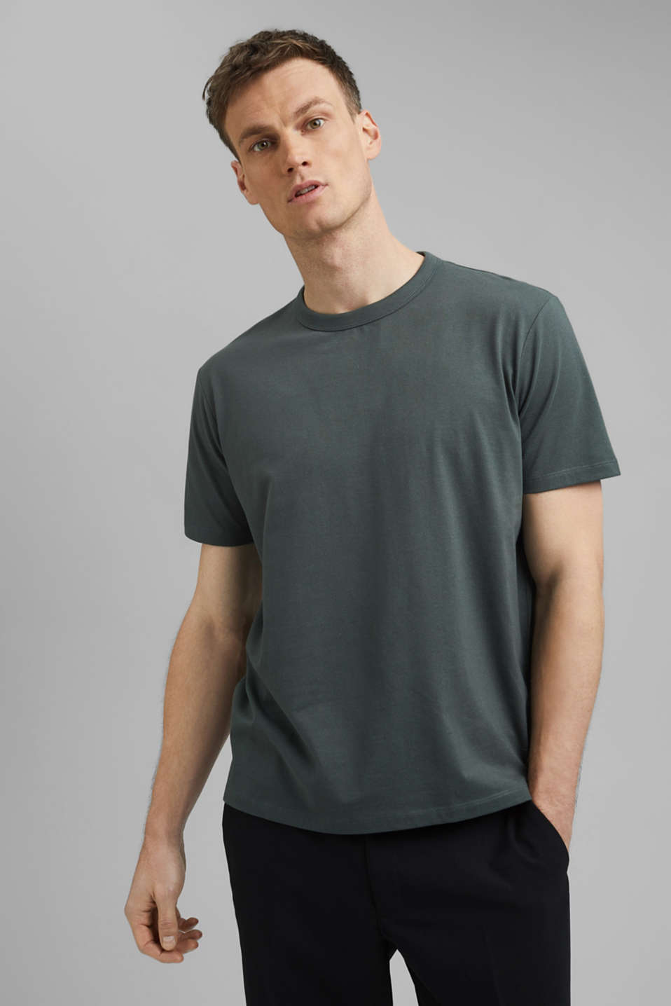 Esprit - Jersey T-shirt with COOLMAX® technology