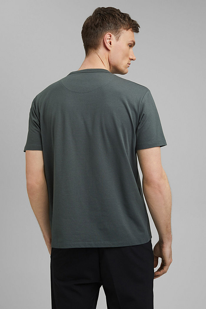 Jersey T-shirt with COOLMAX® technology, DARK TEAL GREEN, detail image number 3