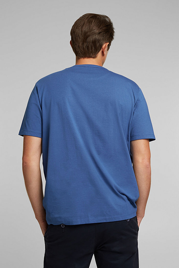 Jersey T-shirt with COOLMAX® technology, BLUE LAVENDER, detail image number 3