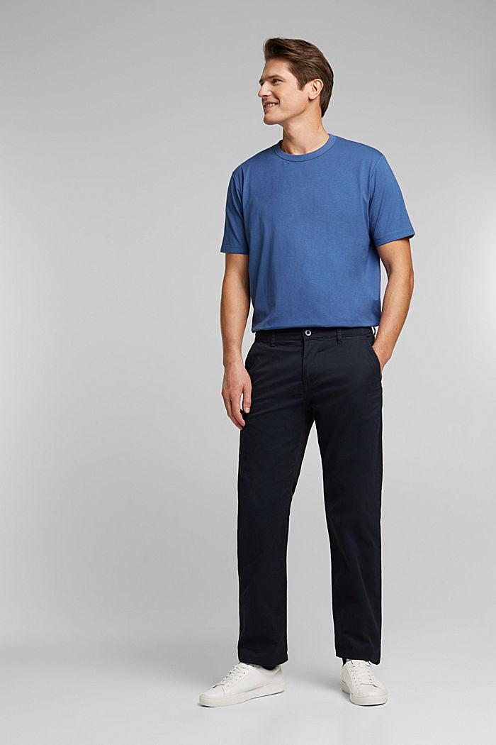 Jersey-Shirt mit COOLMAX®, BLUE LAVENDER, detail image number 2