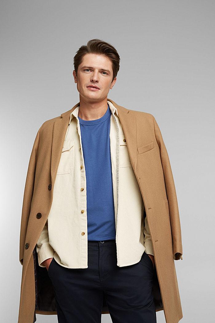 Jersey-Shirt mit COOLMAX®, BLUE LAVENDER, detail image number 6