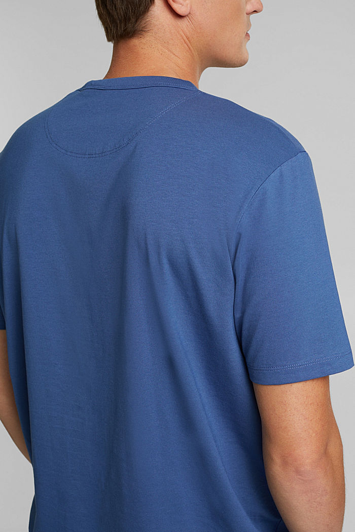Jersey T-shirt with COOLMAX® technology, BLUE LAVENDER, detail image number 1
