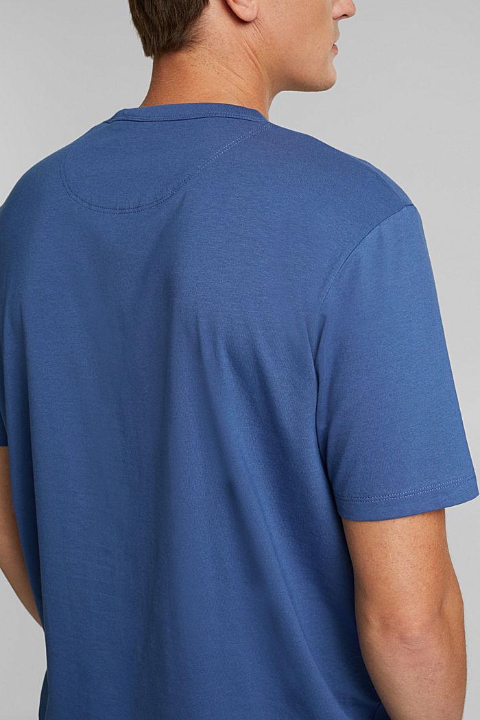 Jersey-Shirt mit COOLMAX®, BLUE LAVENDER, detail image number 1