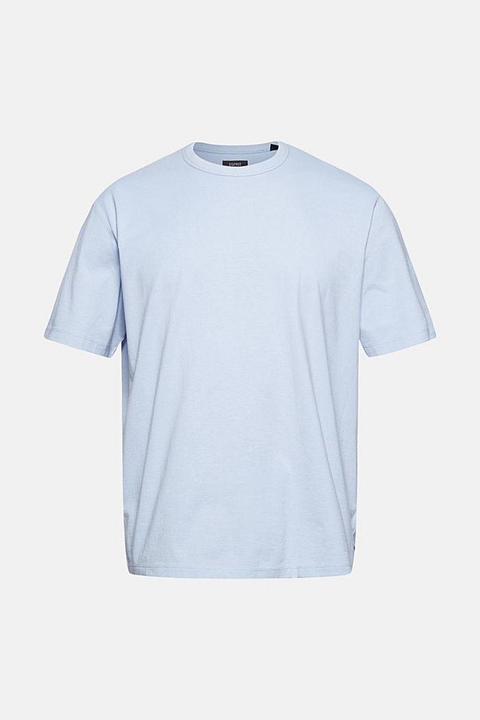 Jersey-Shirt mit COOLMAX®, LIGHT BLUE, overview
