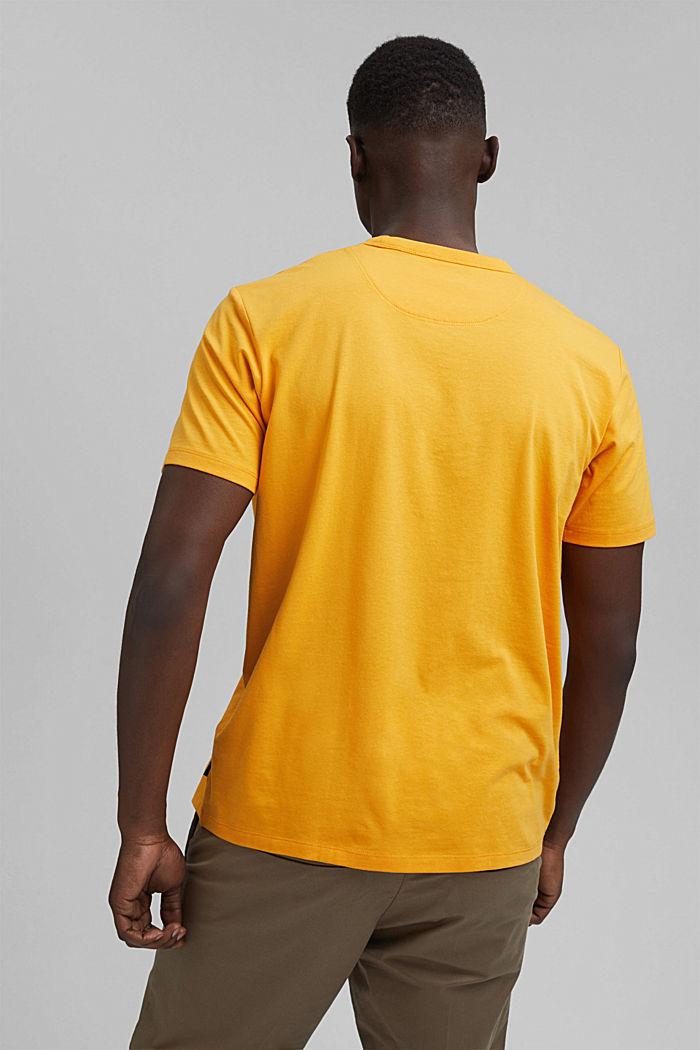 Jersey T-shirt with COOLMAX®, SUNFLOWER YELLOW, detail image number 3