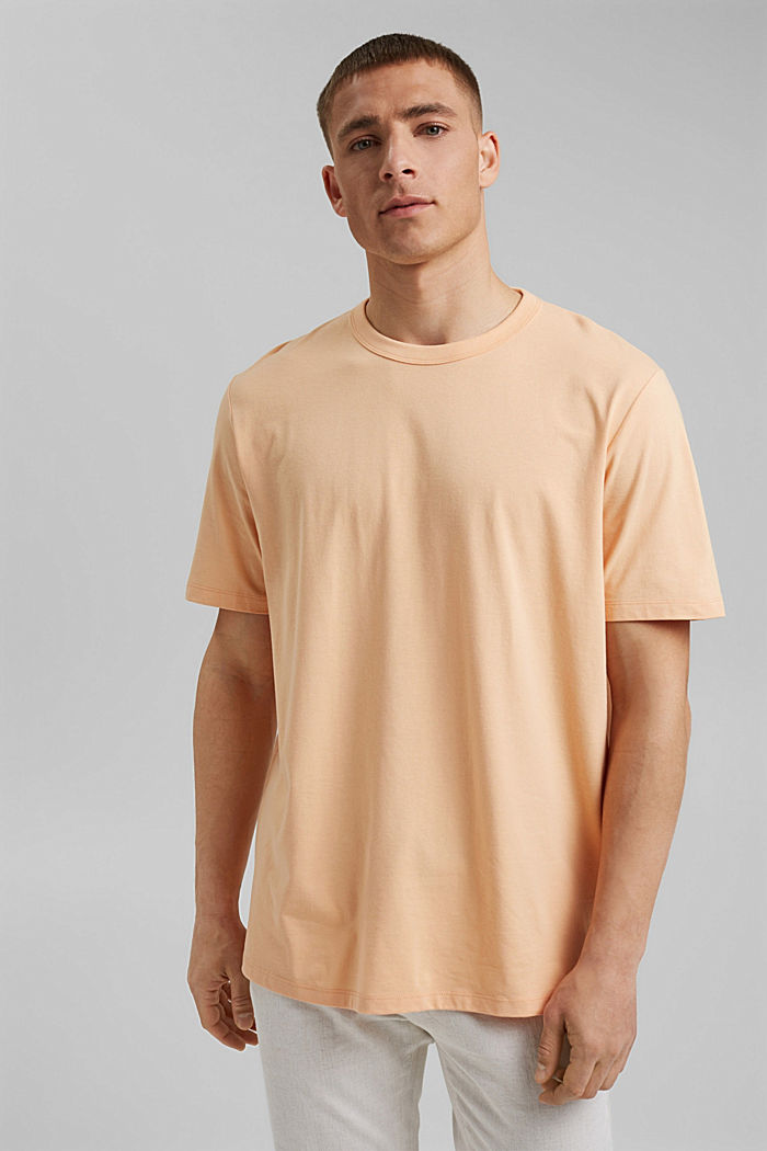 Žerzejové tričko s úpravou COOLMAX®, PEACH, detail image number 4