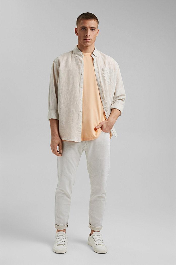 Žerzejové tričko s úpravou COOLMAX®, PEACH, detail image number 2