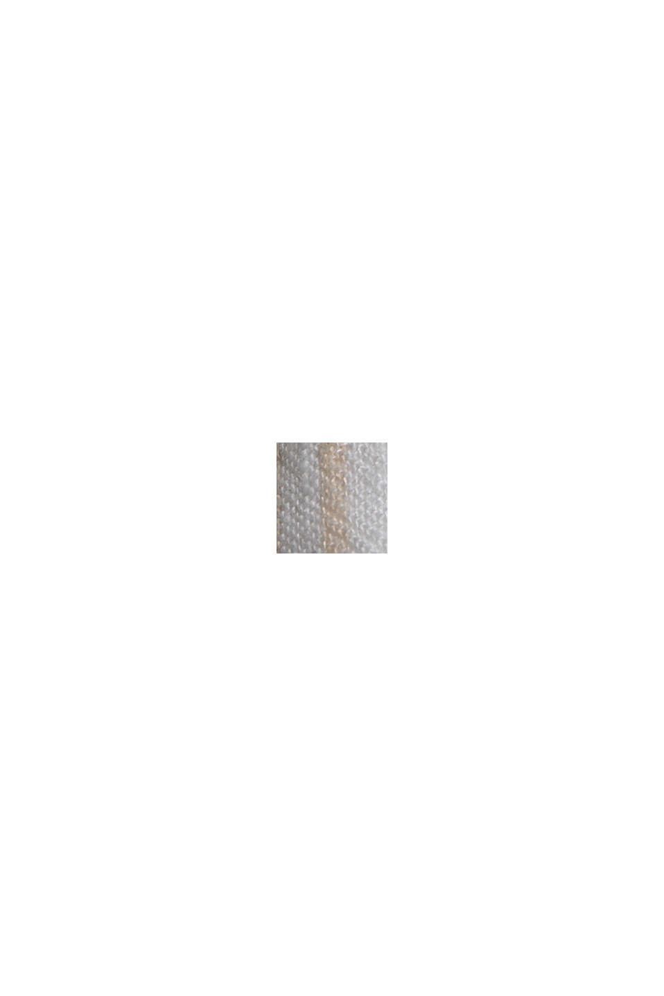 I linnemix: byxa med elastisk linning, OFF WHITE, swatch