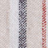 Z mieszanki lnianej: szorty z elastycznym pasem, OFF WHITE, swatch